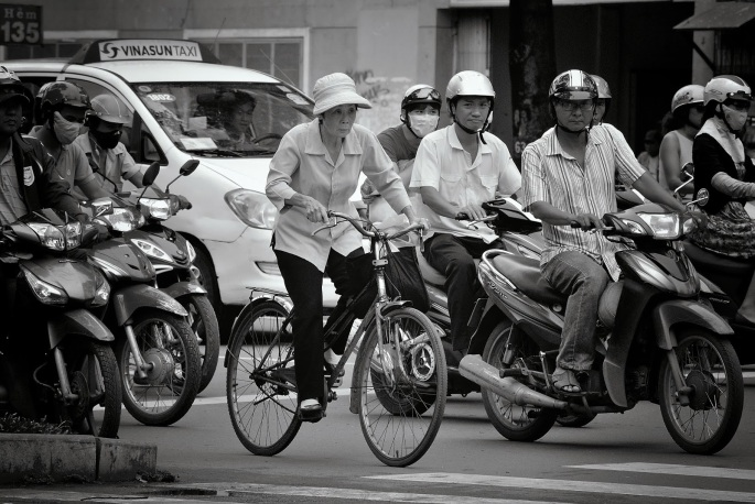 Vietnam Coolpix and V1 070_262BW