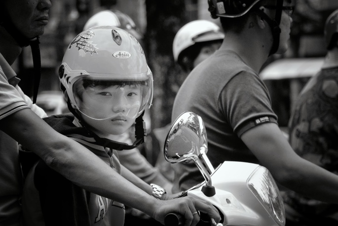Vietnam Coolpix and V1 086_263BW